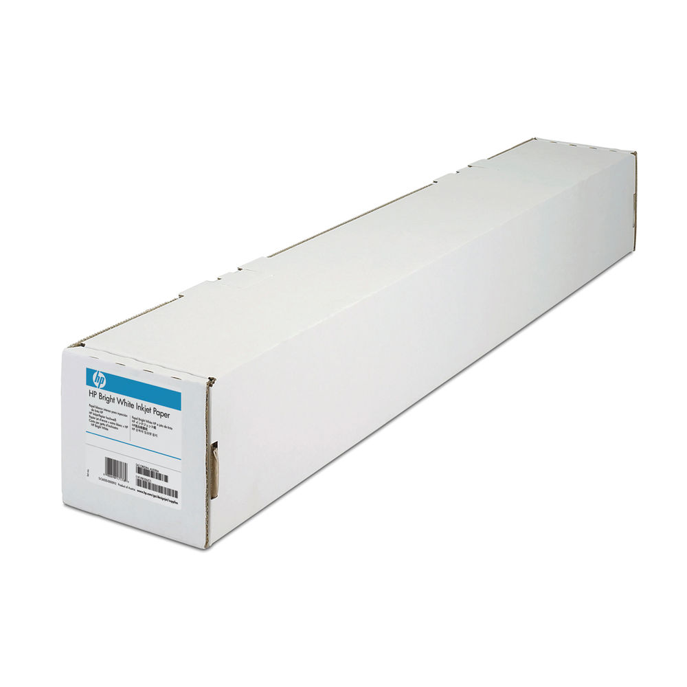 HP Inkjet Bright White Paper Roll 90gsm, 914mm x 91m - C6810A