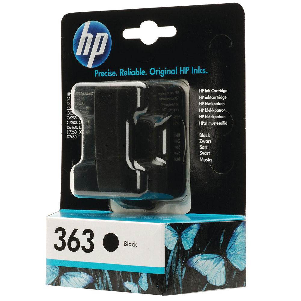 HP 363 Black Ink Cartridge - C8721EE