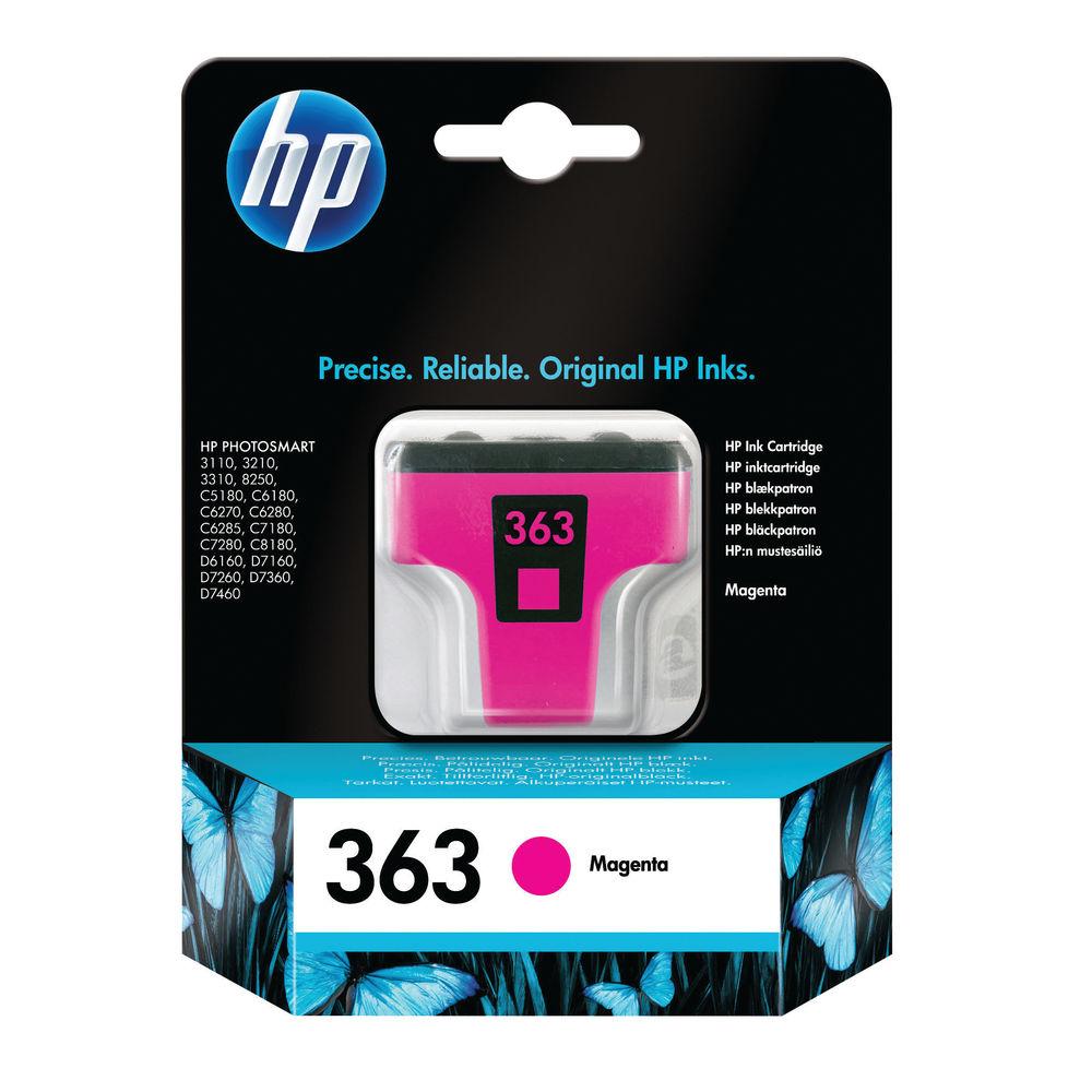 HP 363 Magenta Ink Cartridge - C8772EE