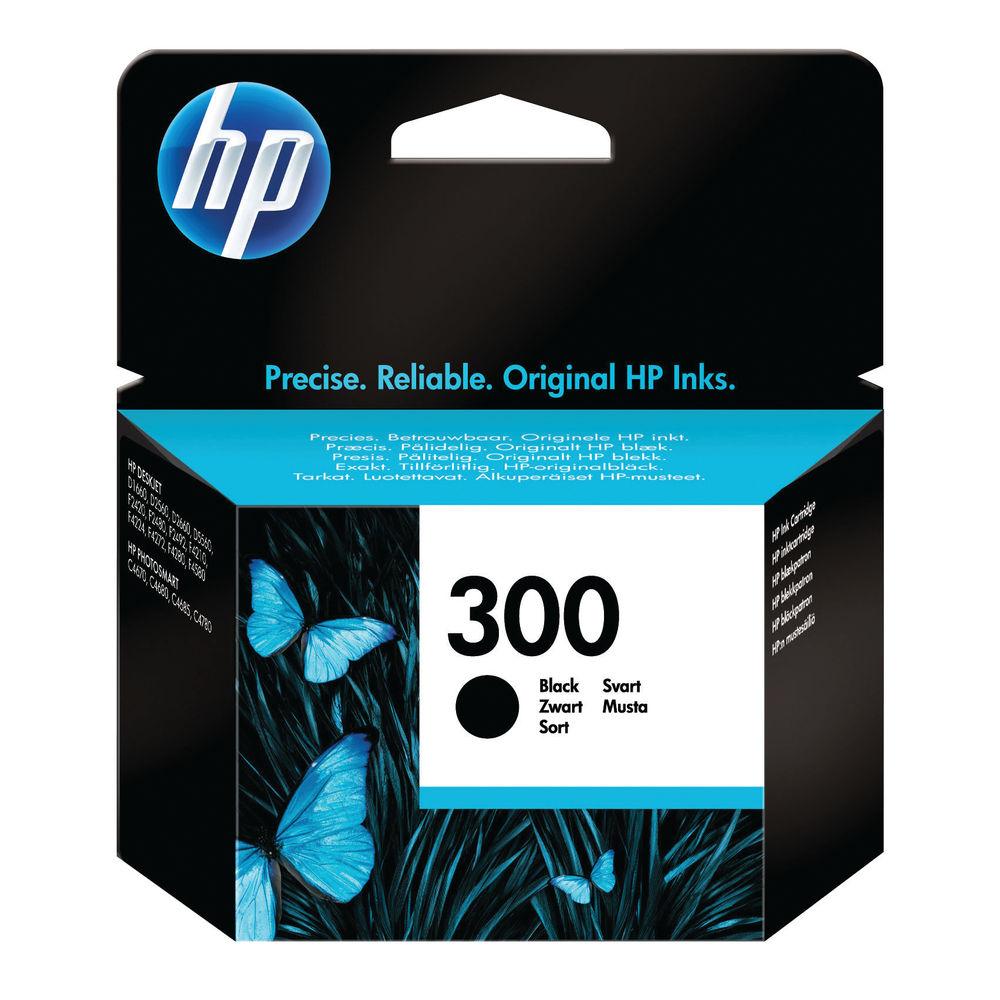 HP 300 Black Ink Cartridge - CC640EE