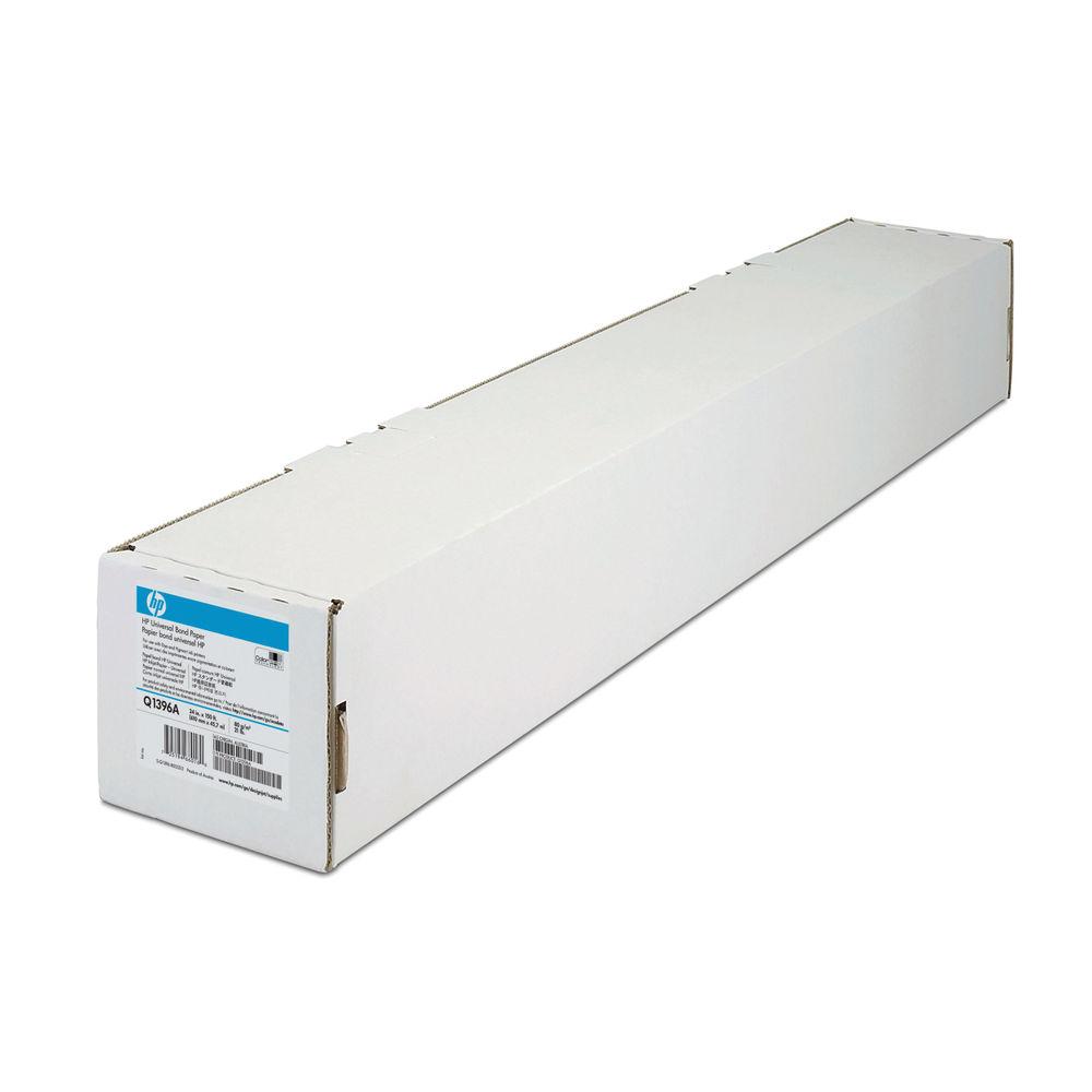 HP Universal Bond White Paper Roll 80gsm, 610mm x 45.7m - Q1396A