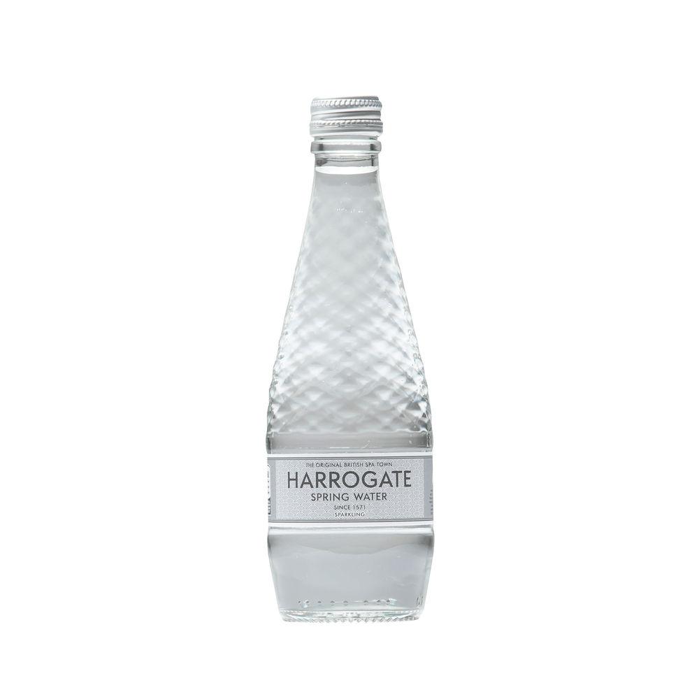 Harrogate Spa Sparkling Bottled Spring Water 330ml, Pack of 24 - G33024 2C