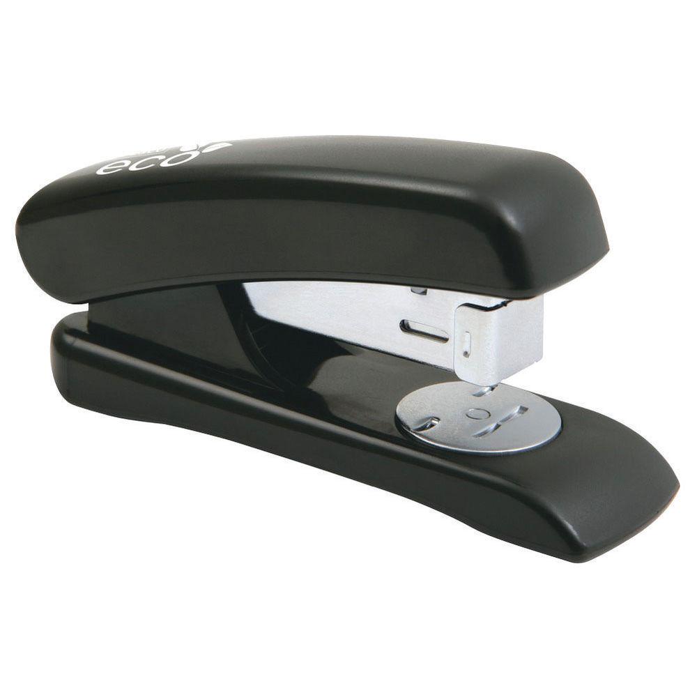 Rapesco Eco Black Half Strip Stapler - 1084