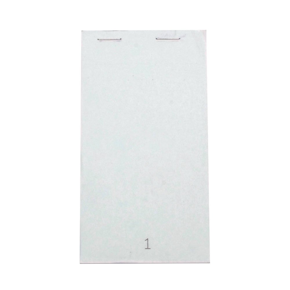 Prestige Duplicate Service Pads, 140 x 76mm, Numbered 1-50, Pack of 50 - HY99030