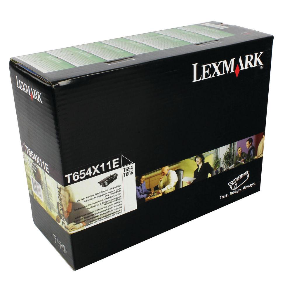 Lexmark Black Toner Cartridge - Extra High Capacity 0T654X11E
