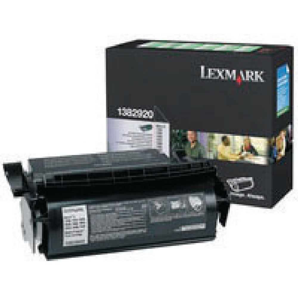Lexmark 1250 Black Toner Cartridge - 001382920