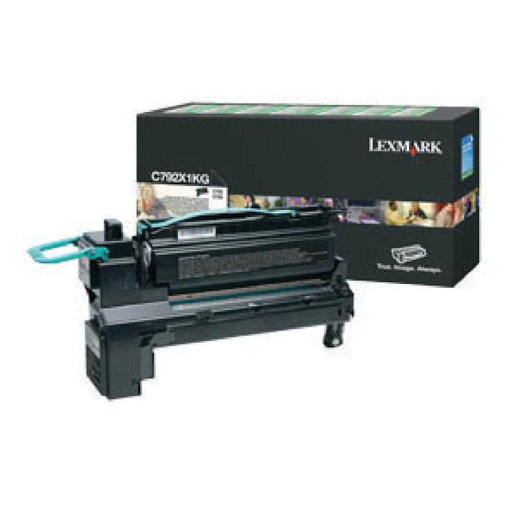 Lexmark C792 Black Toner Cartridge - Extra High Capacity C792X1KG