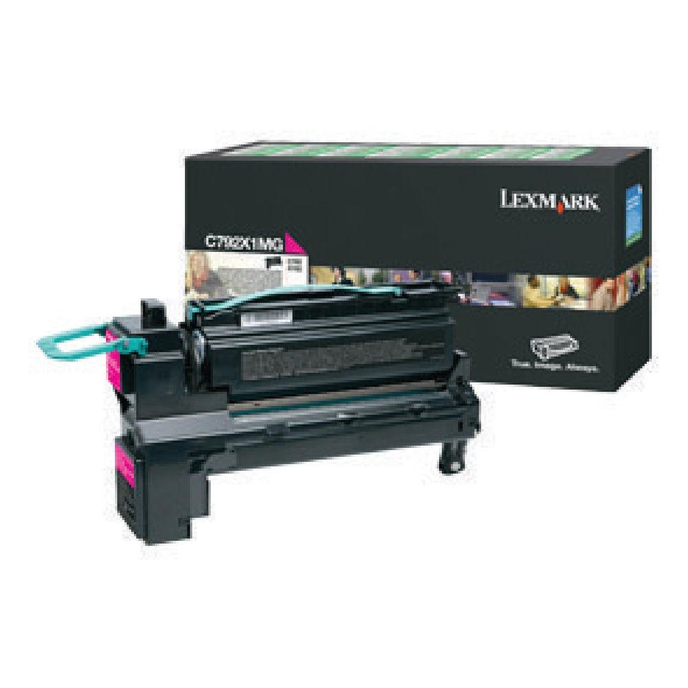 Lexmark C792 Extra High Capacity Magenta Toner Cartridge - C792X1MG