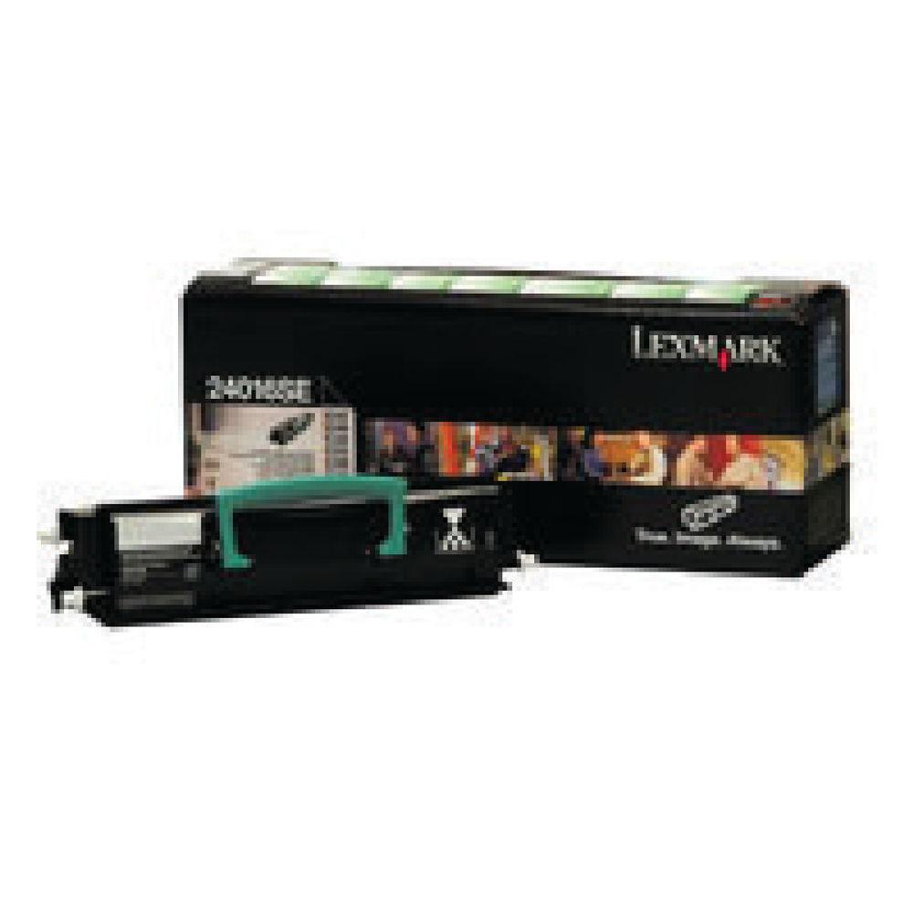 Lexmark Black Return Program Laser Toner Cartridge 0024016SE