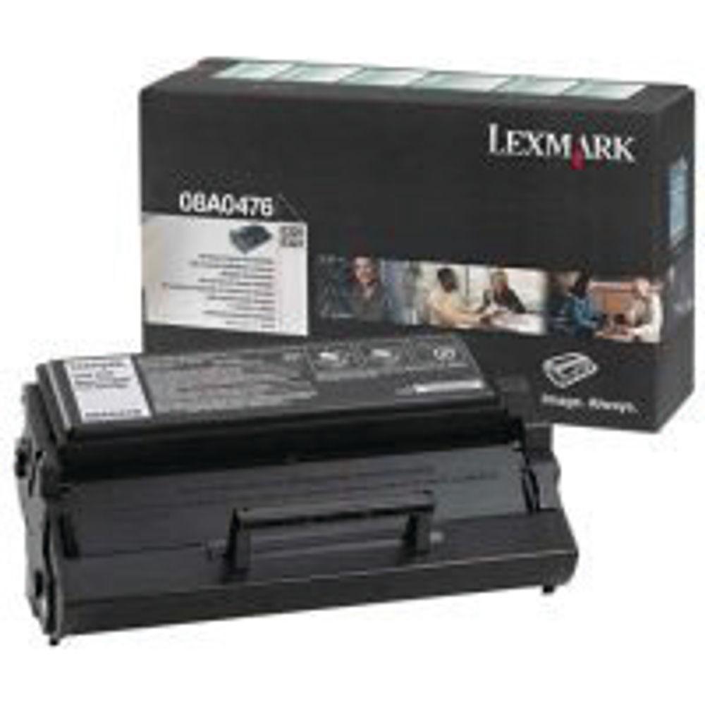 Lexmark C320/322 Black Toner Cartridge - 08A0476