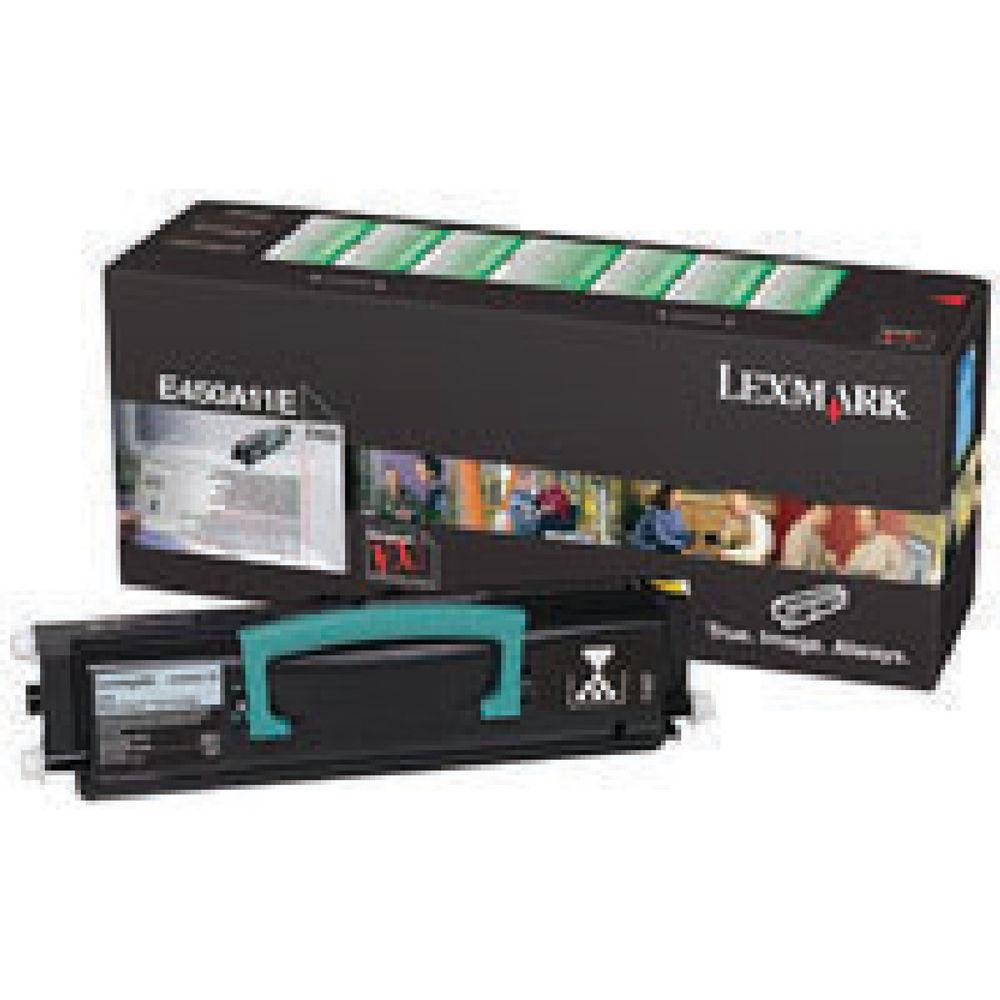Lexmark E450 Black Return Program Toner Cartridge E450A11E