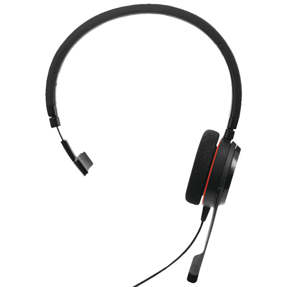 Jabra Evolve 20 Mono MS Headset - 52644
