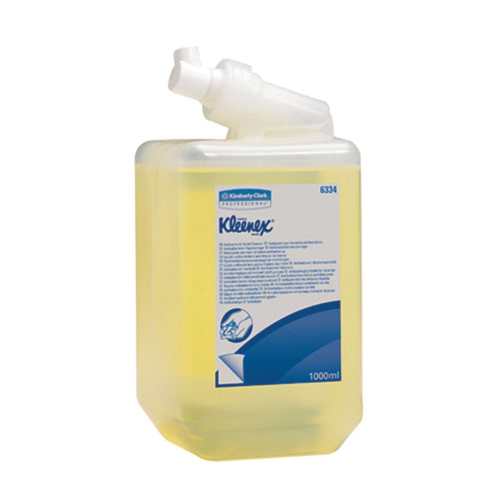 Kleenex Antibacterial Hand Soap Refill 1 Litre 6 Pack 6334