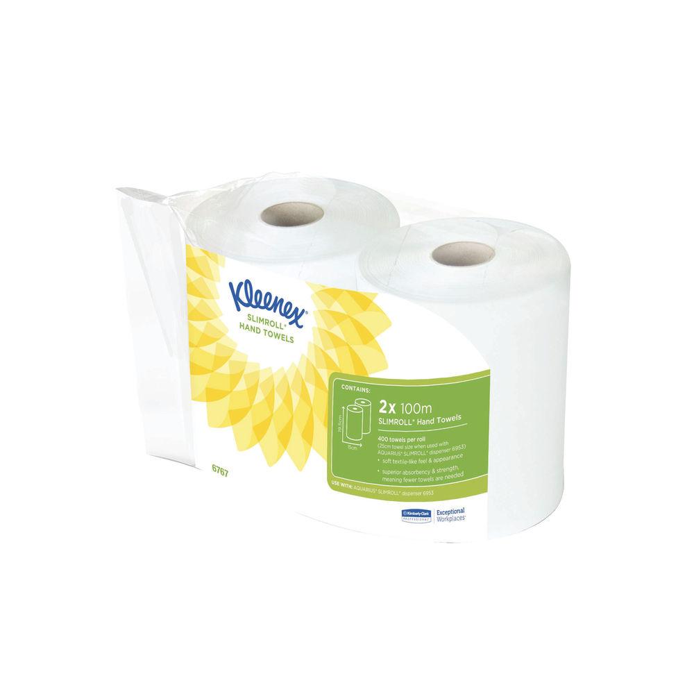 Kleenex White Hand Towels, Pack of 6 - 6767