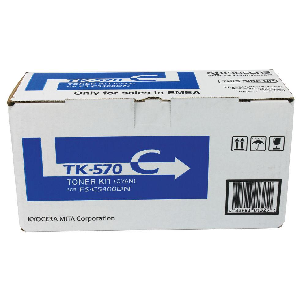 Kyocera TK-570C Cyan Toner Cartridge - TK-570C