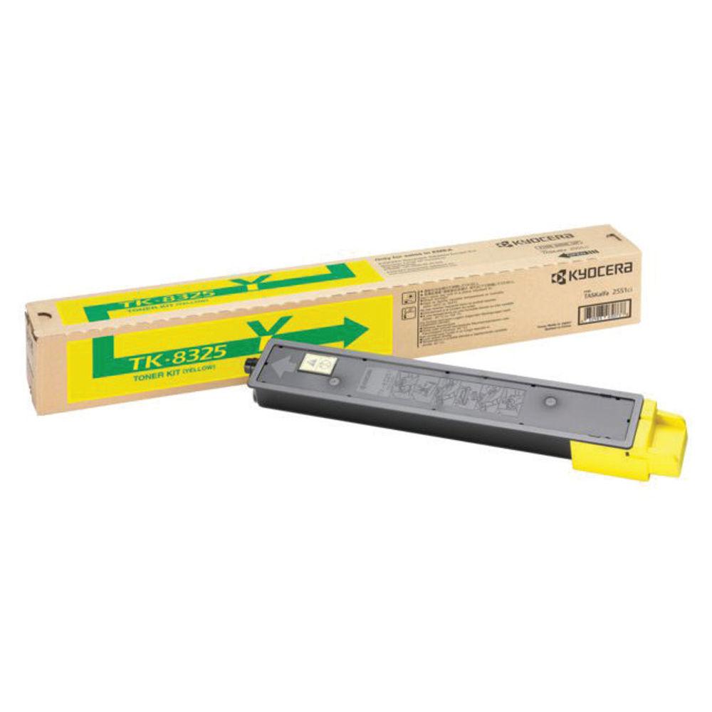 Kyocera Yellow Toner Cartridge TK-8325Y
