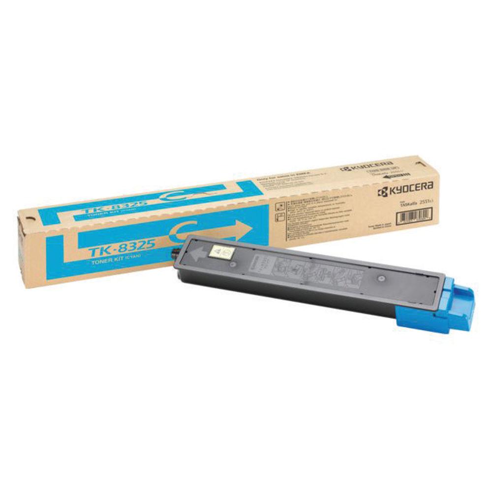 Kyocera Cyan Toner Cartridge TK-8325C