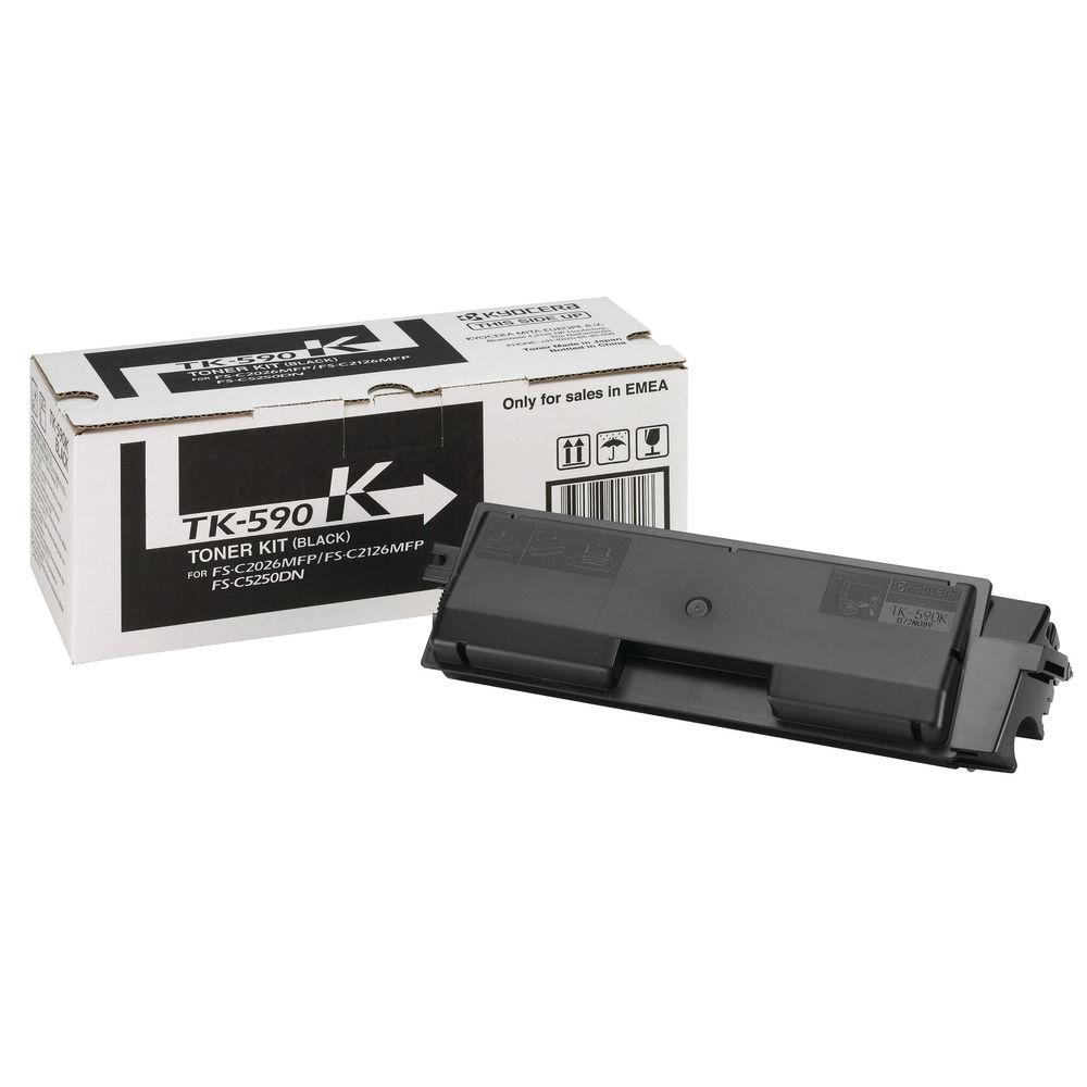 Kyocera TK-590K Black Toner Cartridge - TK-590K