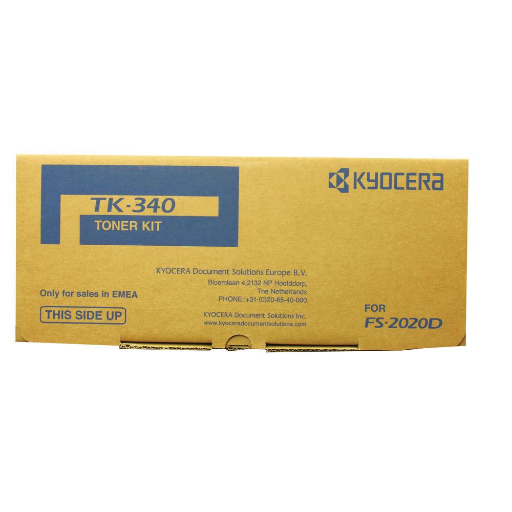Kyocera TK-340 Black Toner Cartridge (12,000 Page Capacity)