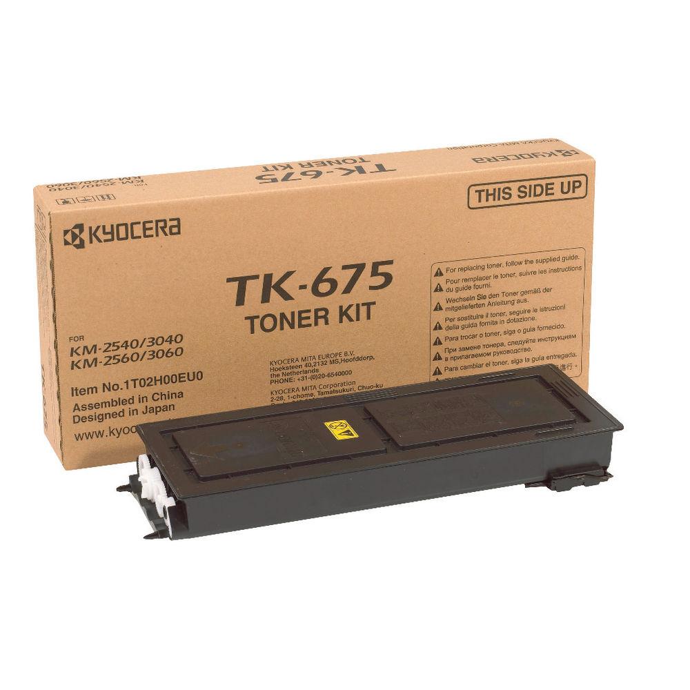 Kyocera TK-675 Black Toner Cartridge - 1T02H00EU0