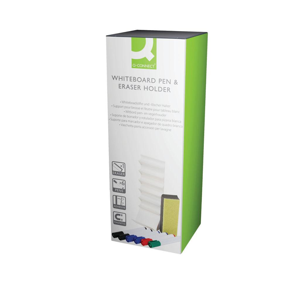 Q-Connect Whiteboard Pen and Eraser Holder - AWPE001QCA