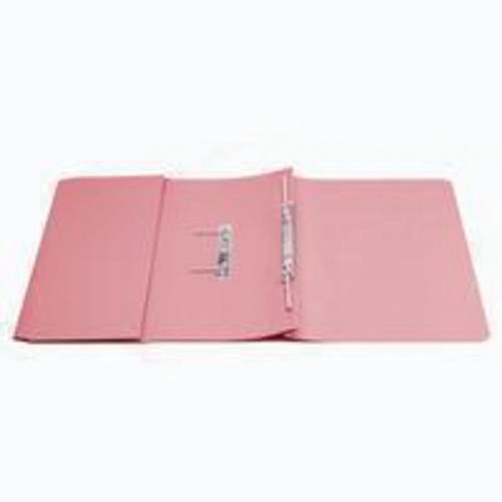 Q-Connect Transfer Pink Pocket Files 35mm - Pack of 25 - KF26098