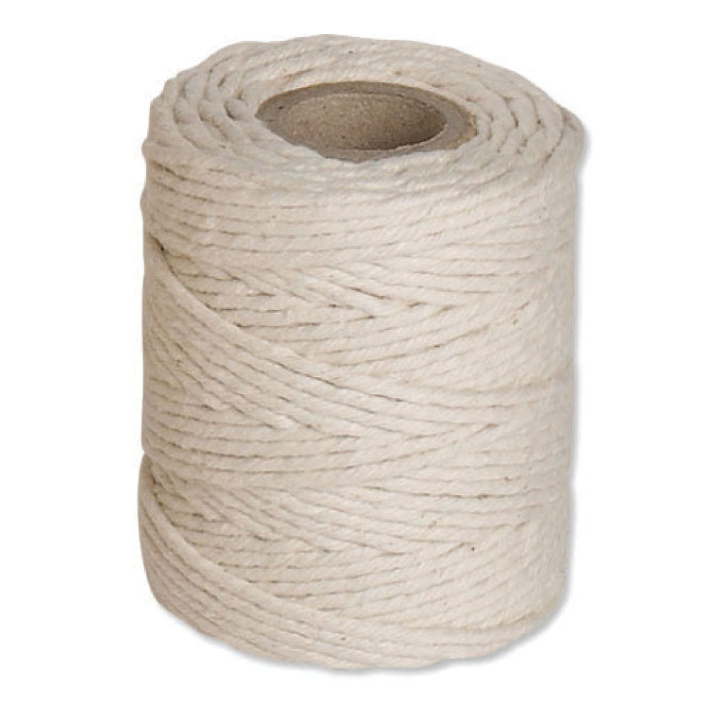 Flexocare Medium White Cotton Twine Reel 250g - Pack of 6 - 77658009
