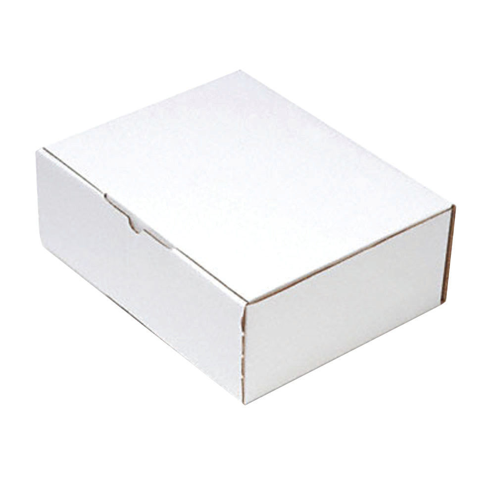 220 x 110mm White Mailing Boxes, Pack of 25 - PPAK-KING09-C