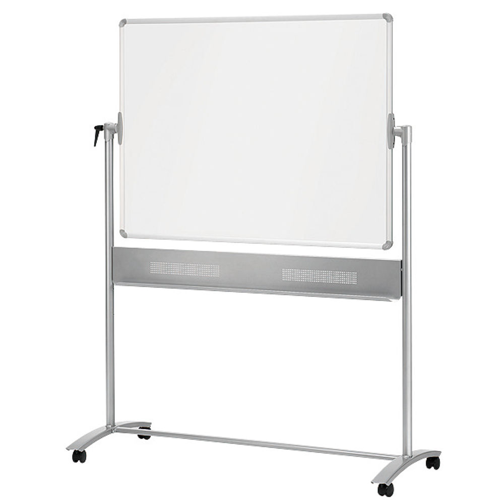 Nobo Mobile Steel Magnetic Whiteboard, 900x1200mm - 1901029