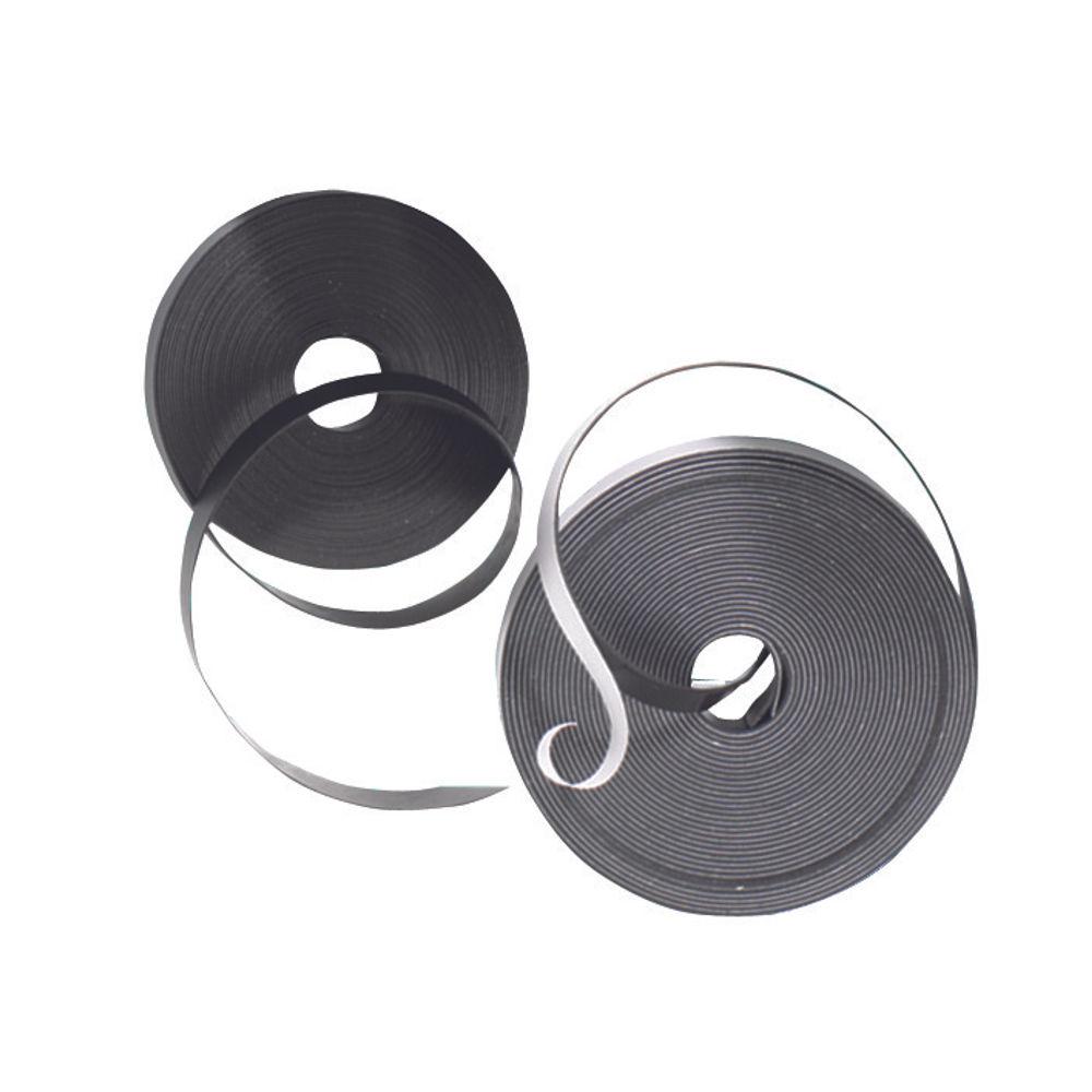 Nobo Black Self Adhesive Magnetic Tape 10mm x 10m - 1901053