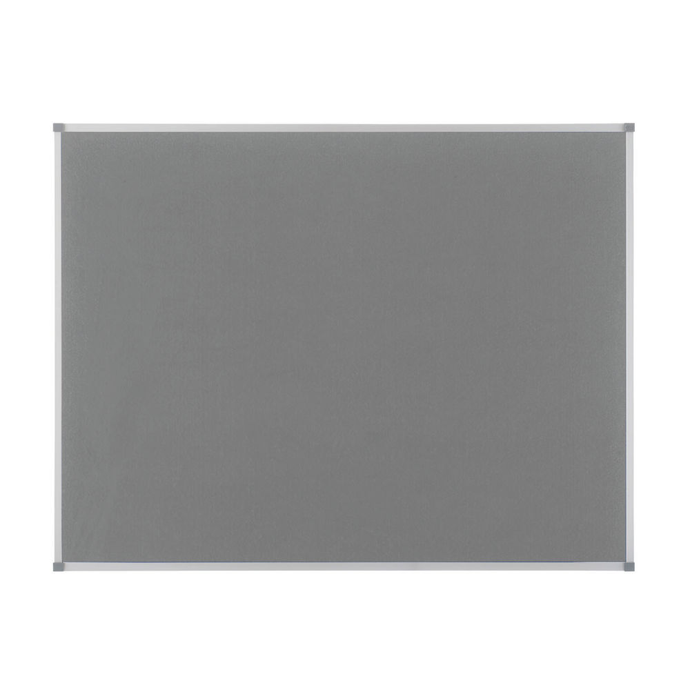 Nobo Classic Felt Notice Board, 1800 x 1200mm, Grey - NB14600