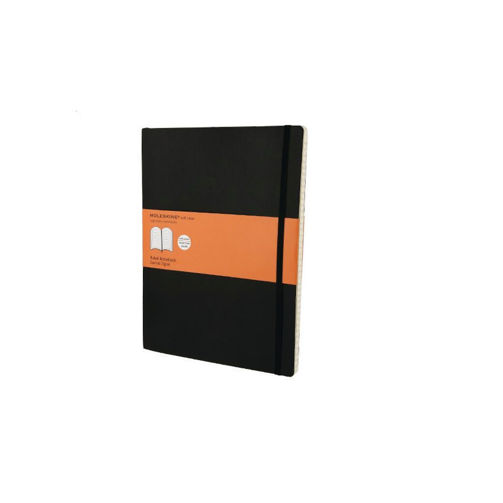 Moleskine Classic Extra Large Soft Covered Ruled Notebook - QP621