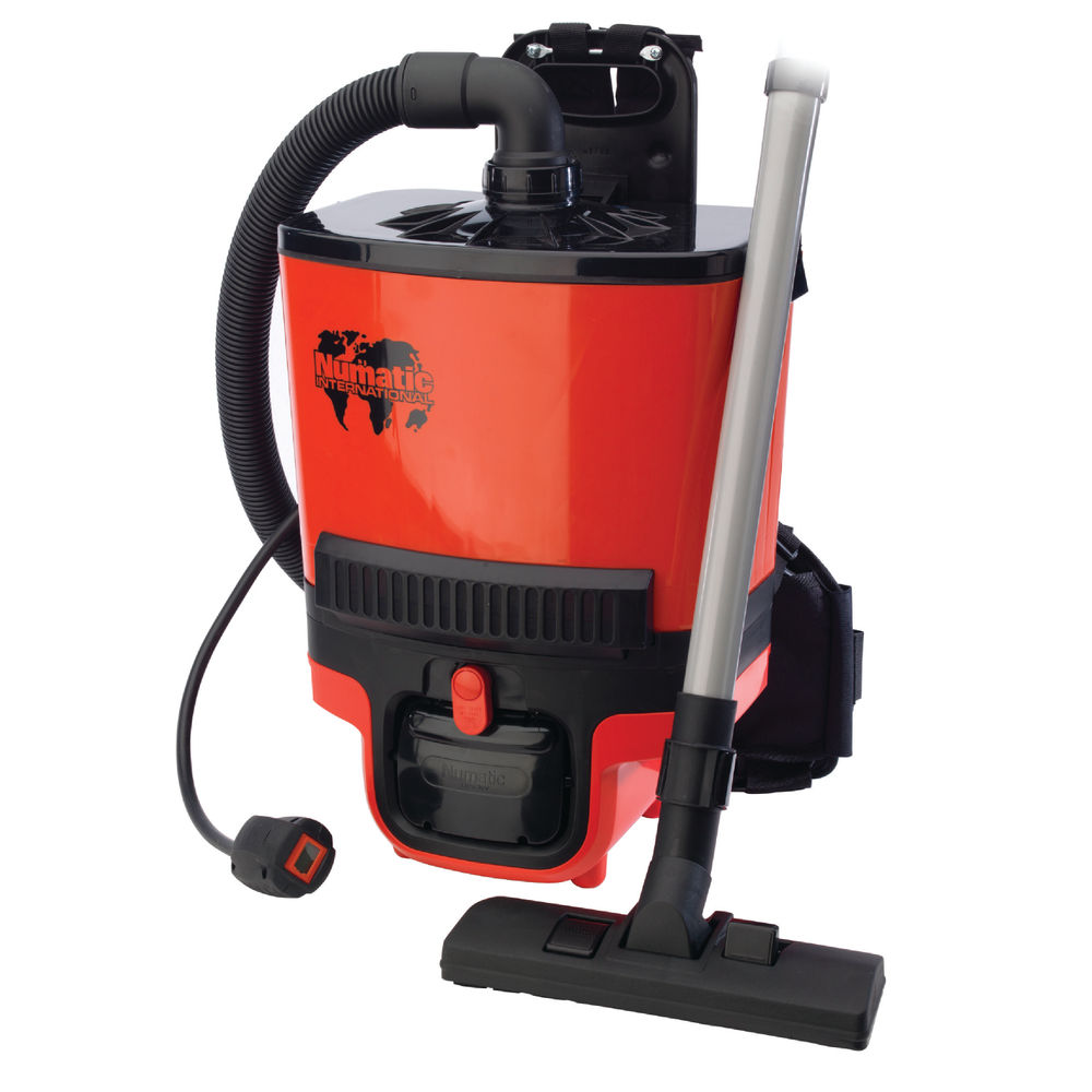 Numatic Red RucSac Backpack Vacuum Cleaner RBS.140 – 839006