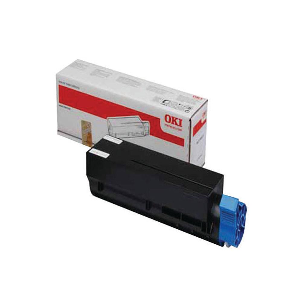 Oki High-Capacity Black Toner Cartridge – 44917602