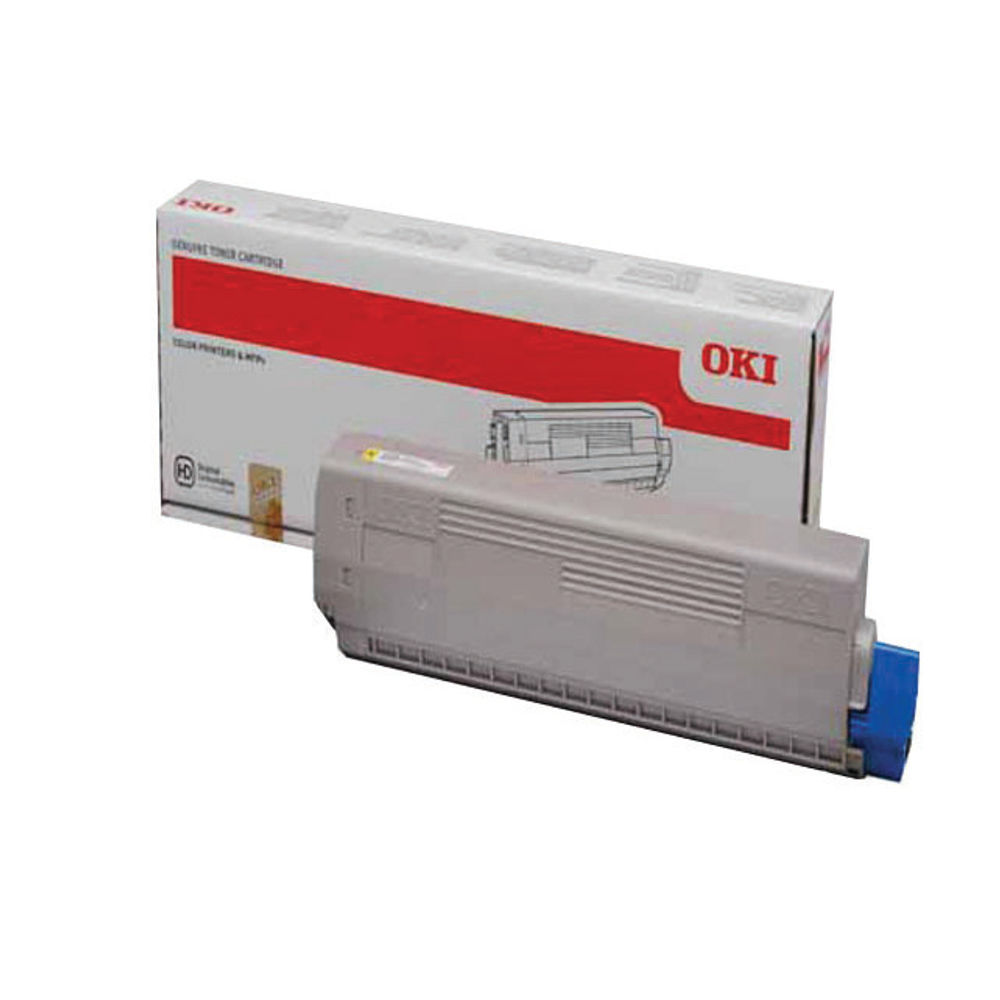 Oki Yellow Toner Cartridge - 44844613