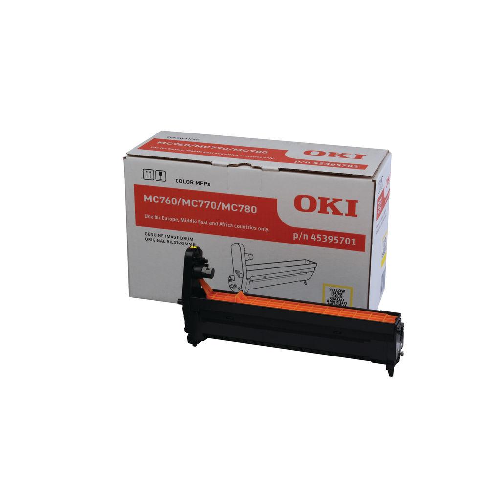 Oki MC760/MC770/MC780 Imaging Unit Yellow 45395701