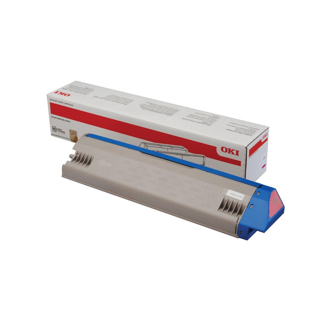 Oki Standard Yield Magenta Toner Cartridge – 45536414