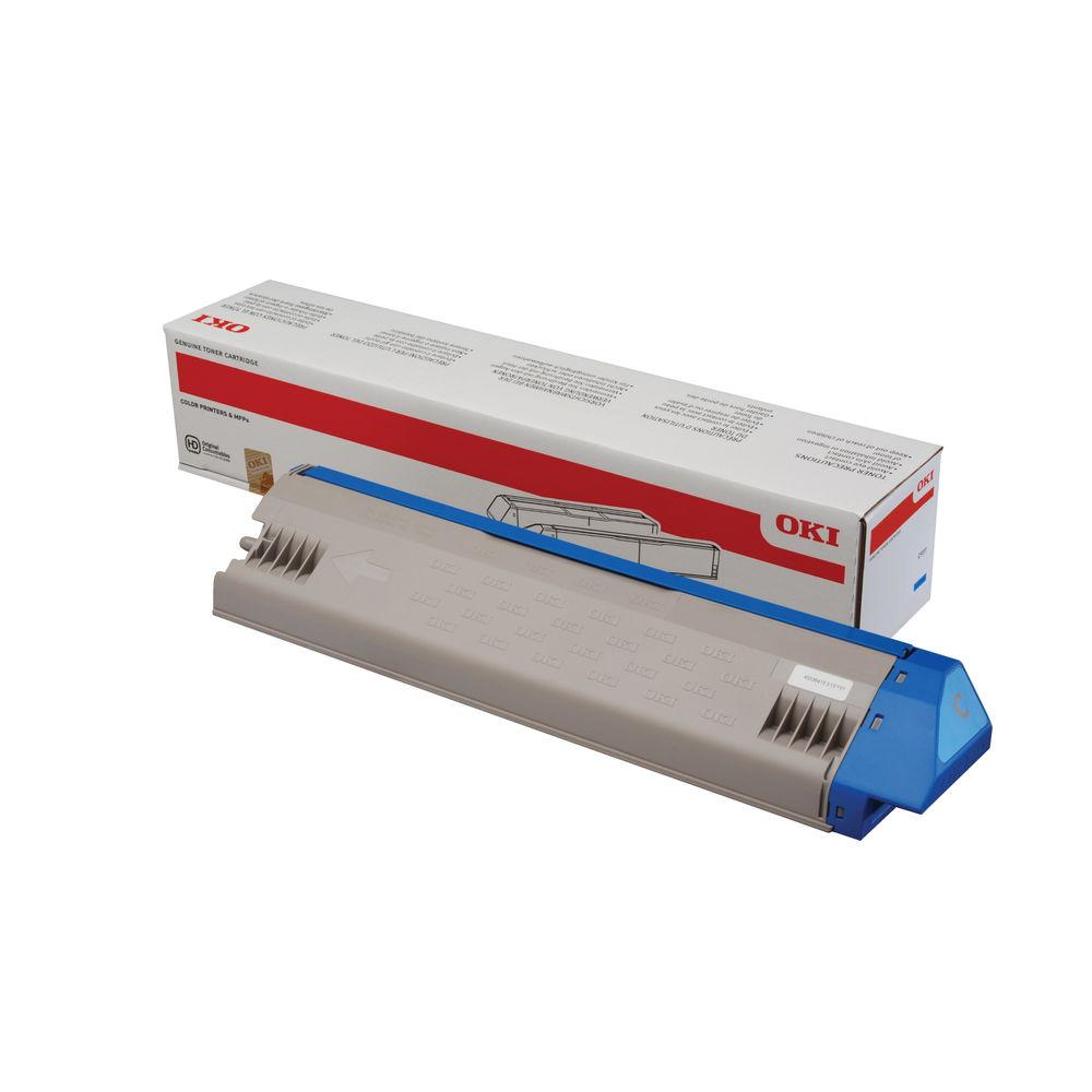 Oki Cyan Toner Cartridge 45536415