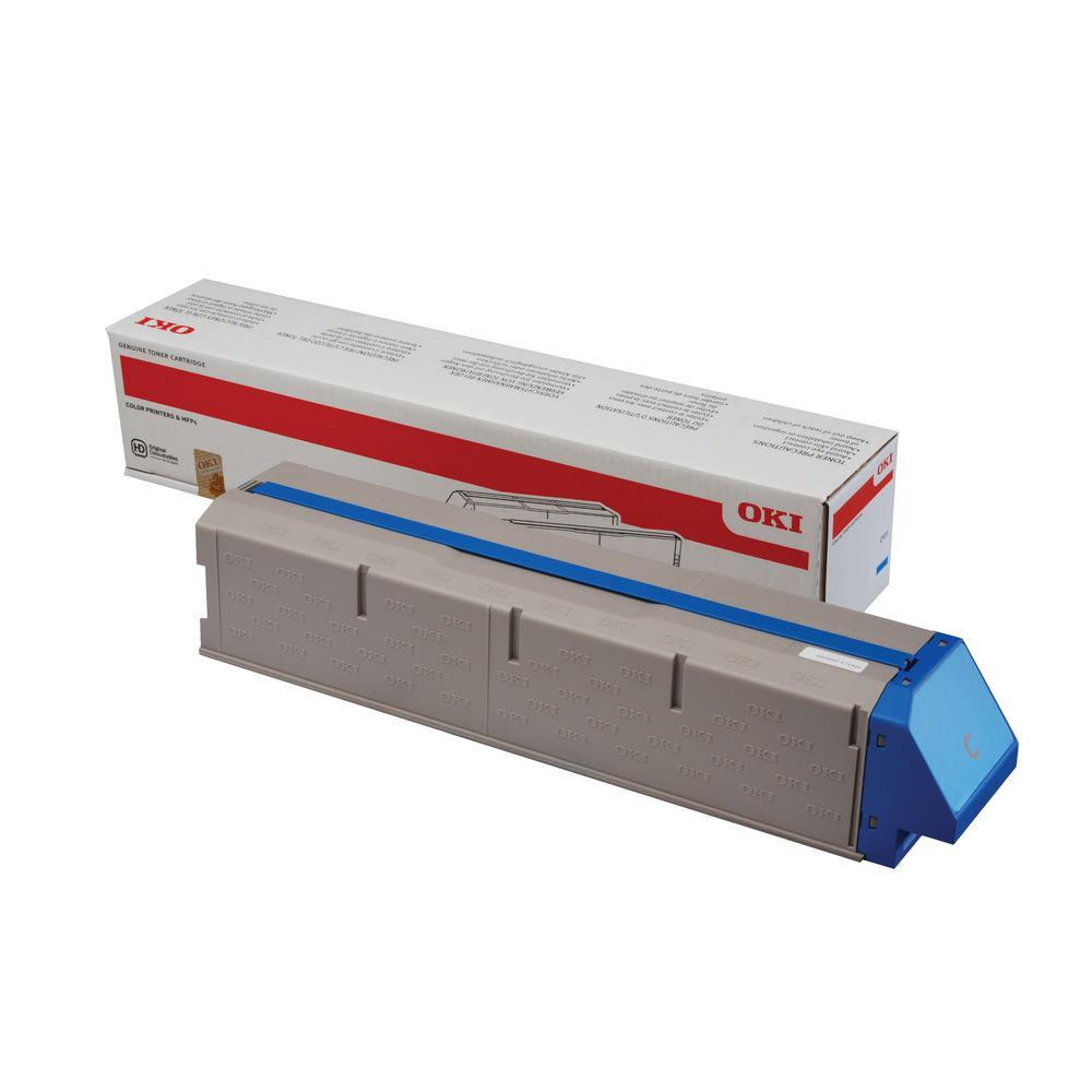 Oki High-Capacity Cyan Toner Cartridge – 45536507