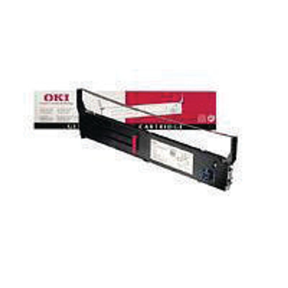 Oki Black Fabric Print Ribbon For Microline 4410 40629303