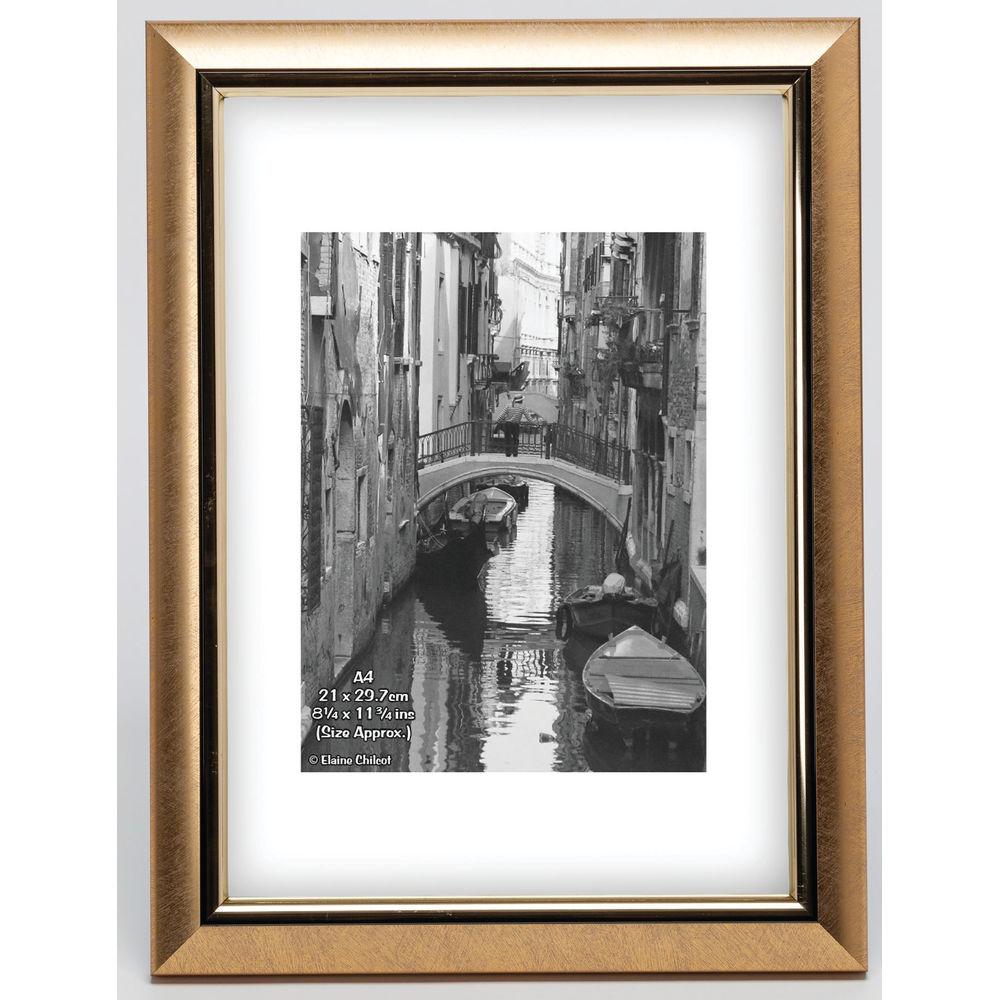 TPAC Photo Modern Certificate Frame A4 Gold PELA4GLD-NG