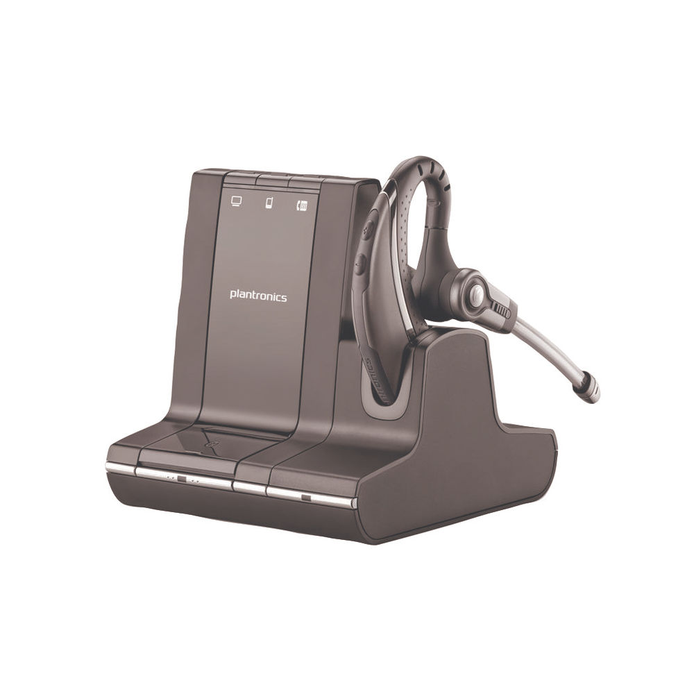 Plantronics Savi W730 Black Wireless Headset 83543-02