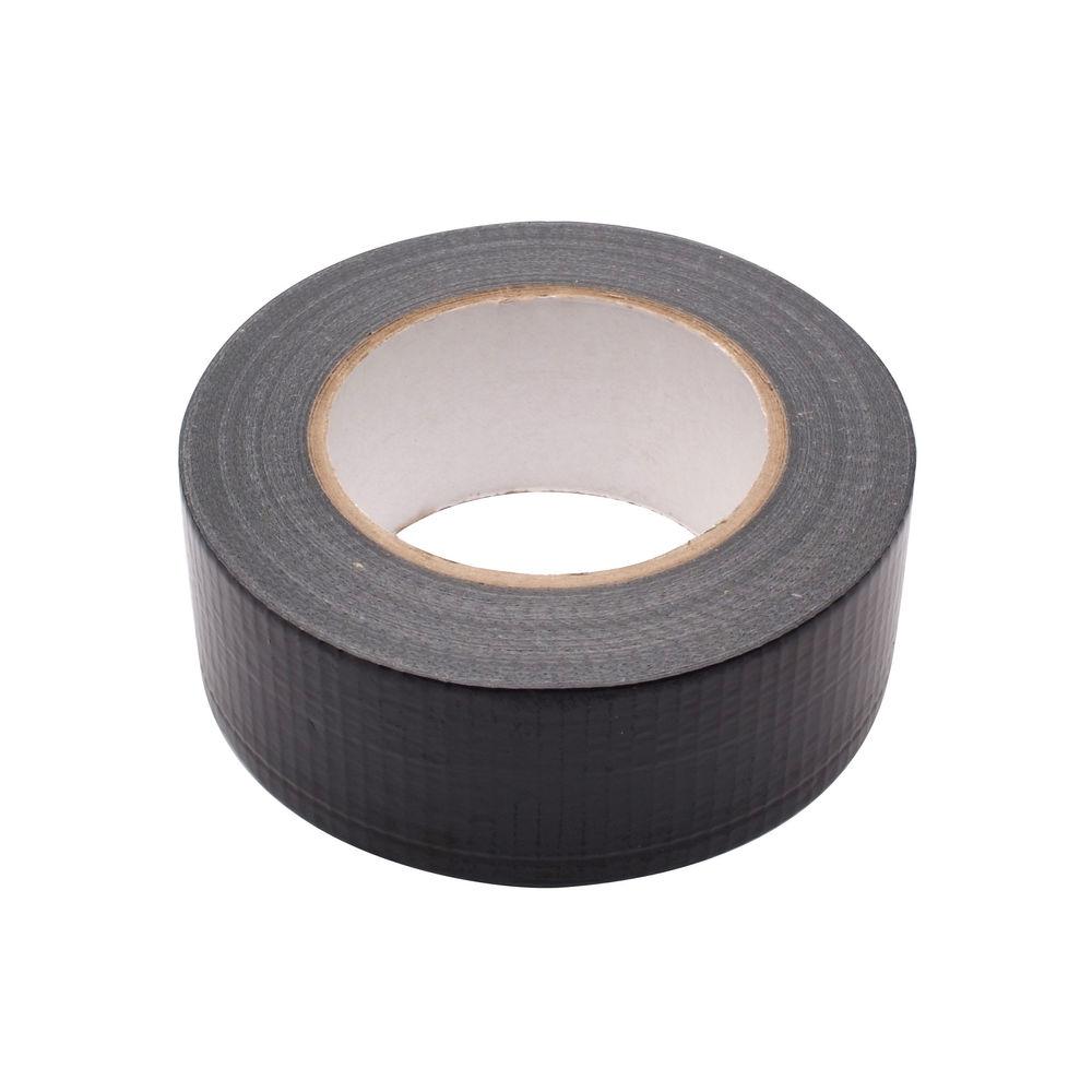 48mm x 50m Black Waterproof Cloth Tape - RY07584