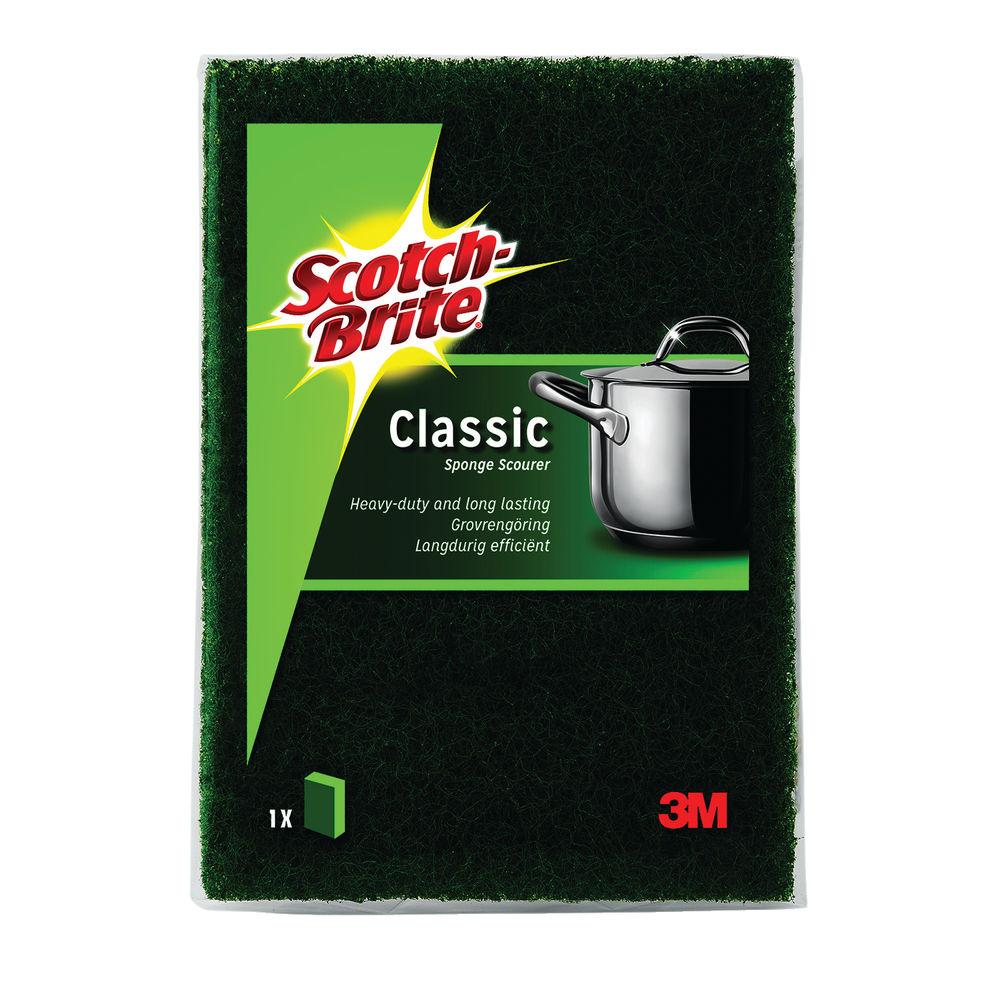 Scotch-Brite Classic Scouring Sponge (Pack of 10) UU003643432