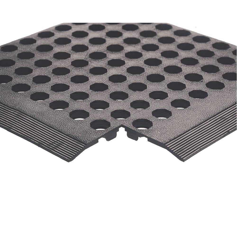 Worksafe 900 x 1500mm Black Rubber Mat – 312475