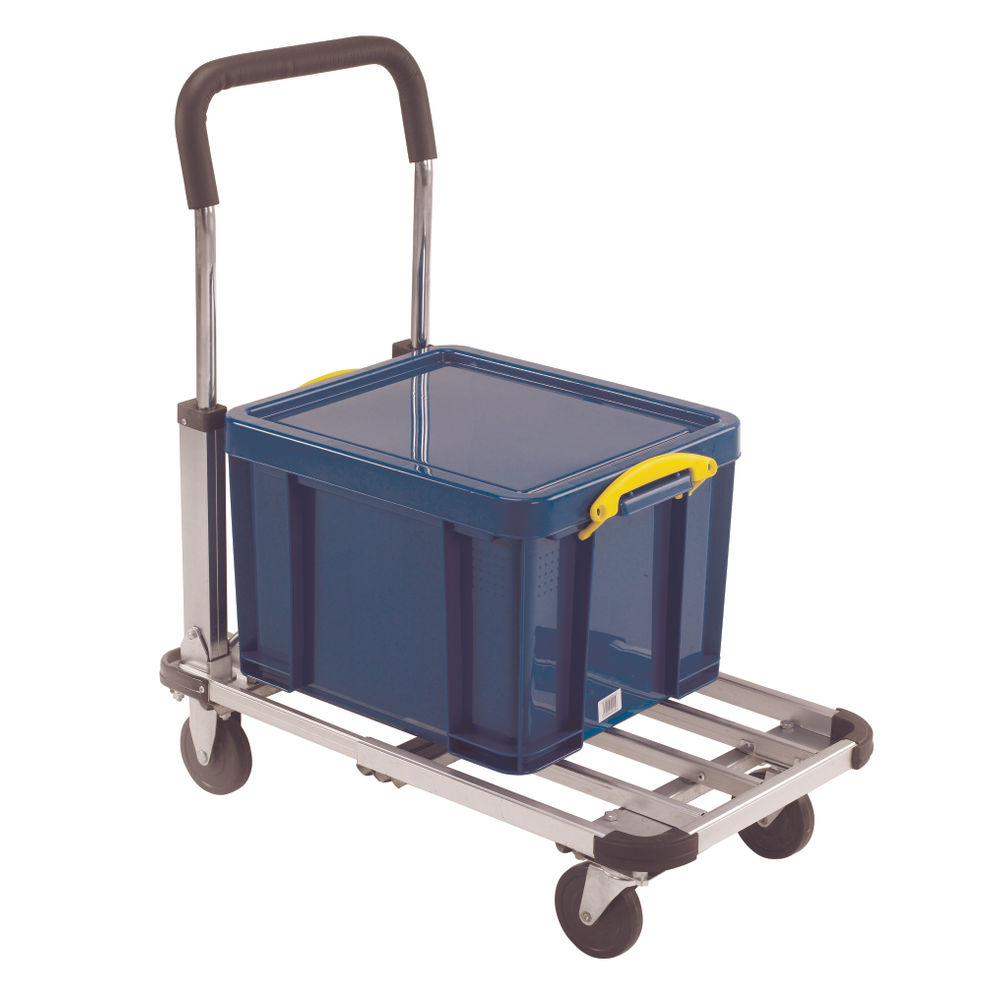 Folding/Extendable Trolley BP150 Black /Grey 317221