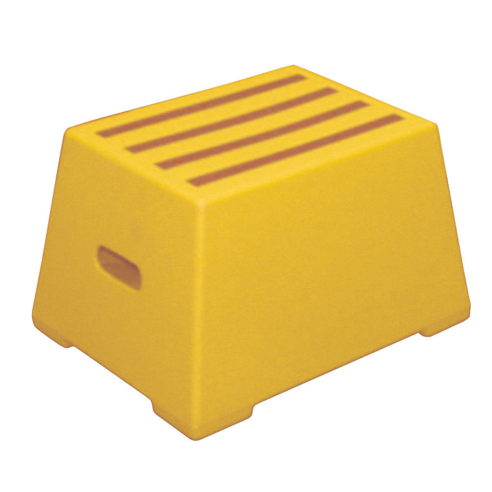 Yellow 1 Tread Plastic Safety Step - 325094