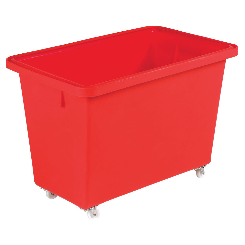 150L Red Mobile Nesting Container - 328229