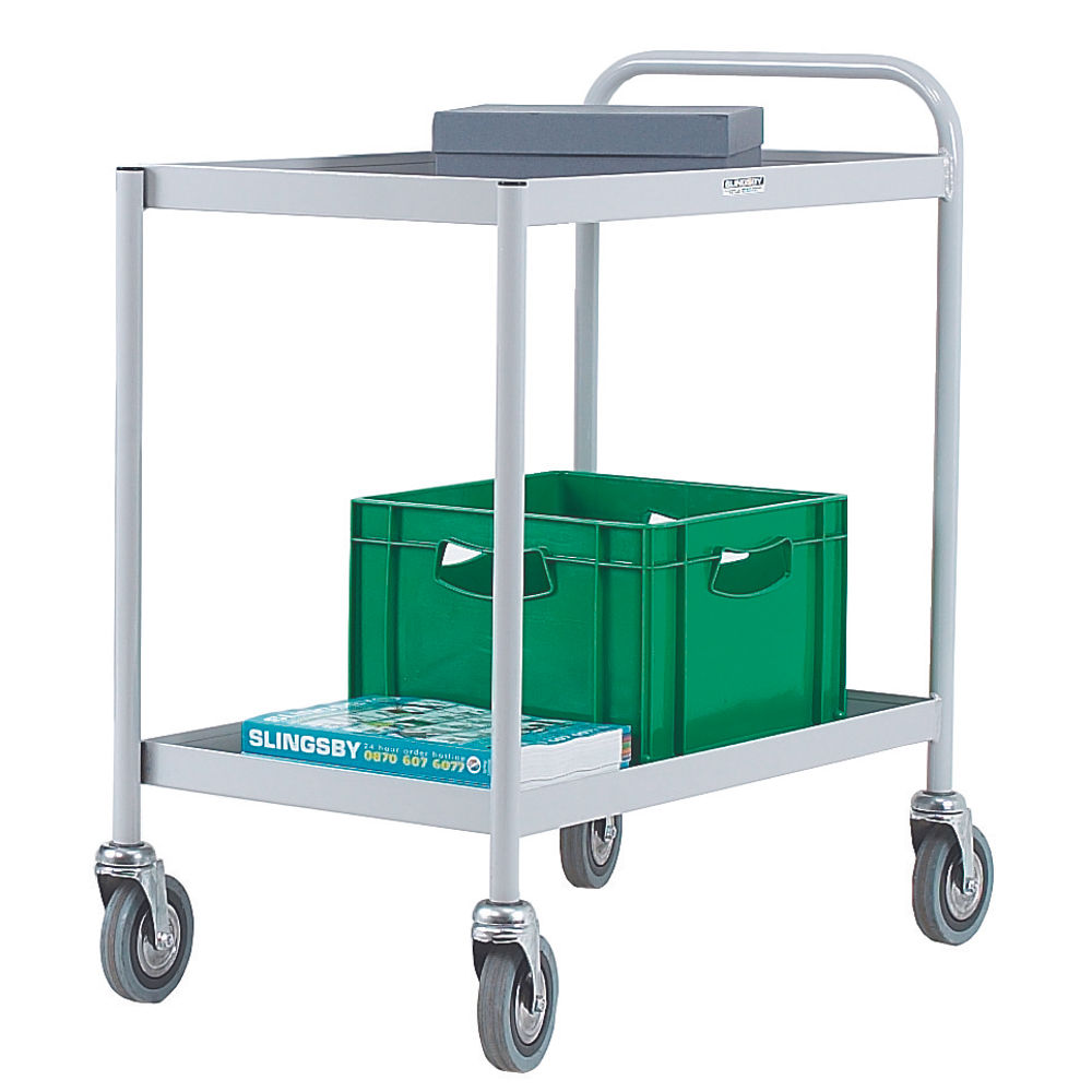 2 Tier Grey General Purpose Trolley 331490