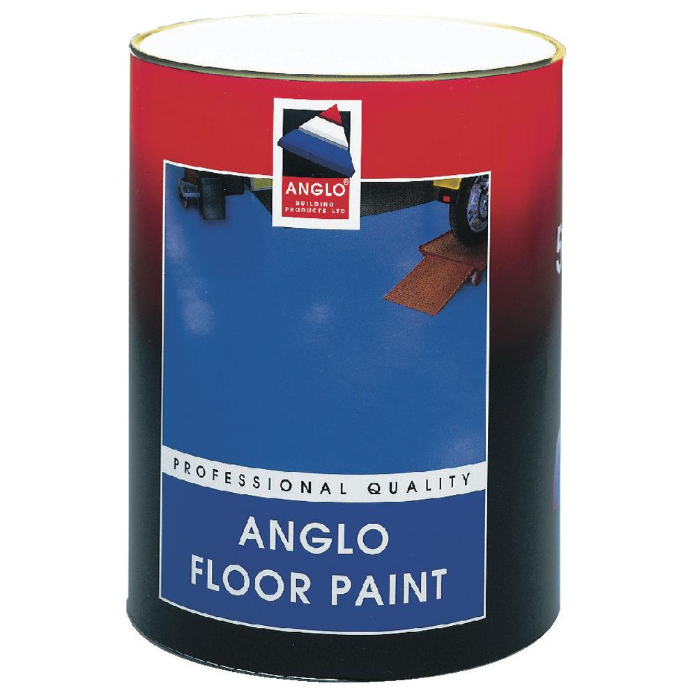 Professional Grade Floor Paint Grey 5 Litre 349750